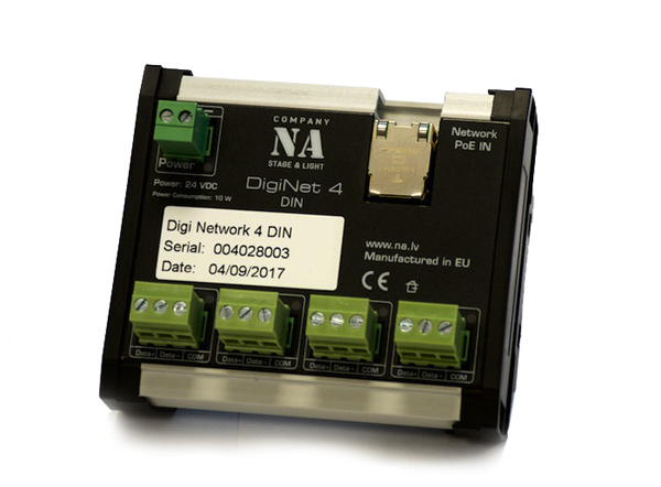 DigiNet 4 DIN RAIL